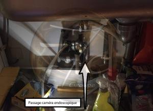 Recherche de fuite cuisine Bordeaux passage caméra endoscopique